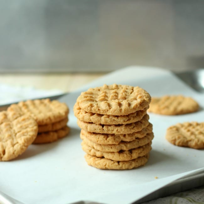 Peanut Butter Cookies | Baking A Moment