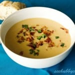 Apple Bacon Cheddar Soup by Dani & JT of See Hubby Cook