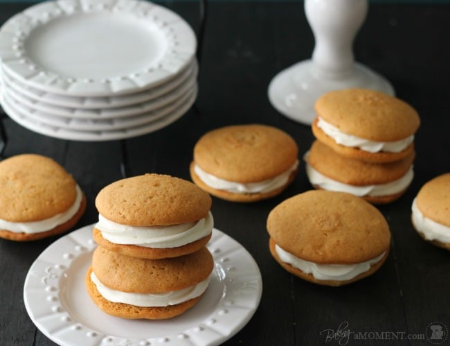 Sweet Potato Whoopie Pies | Baking a Moment