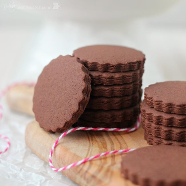 Simply Perfect Chocolate Sugar Cookies