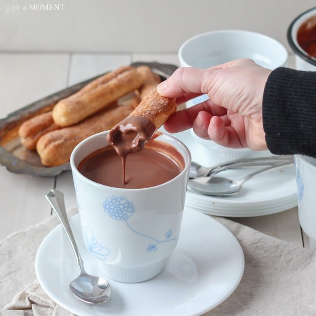 European Style Hot Chocolate | Baking a Moment