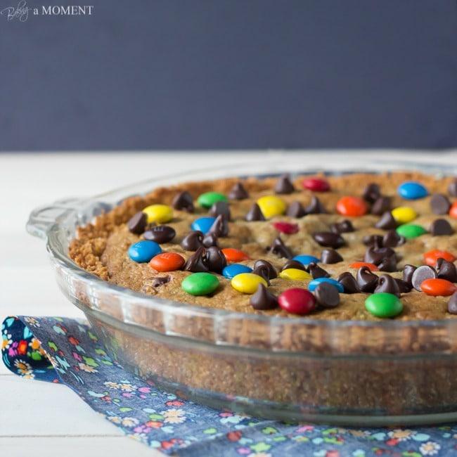 Chocolate Chip Cookie Crack Pie | Baking a Moment #chocchipcookieweek