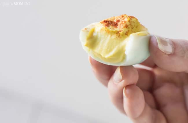 Simply Perfect Devilled Eggs | Baking a Moment