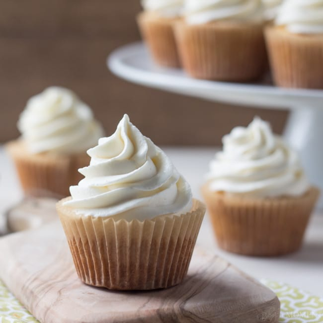 Even Simpler More Perfect Vanilla Cupcakes