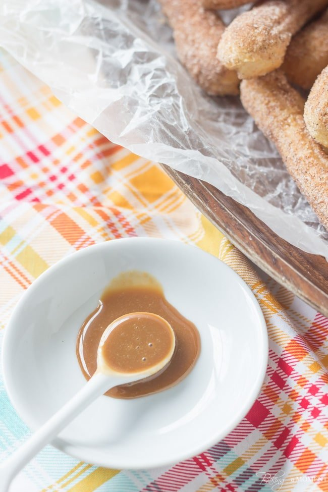 Homemade Cajeta and Baked Churros | Baking a Moment