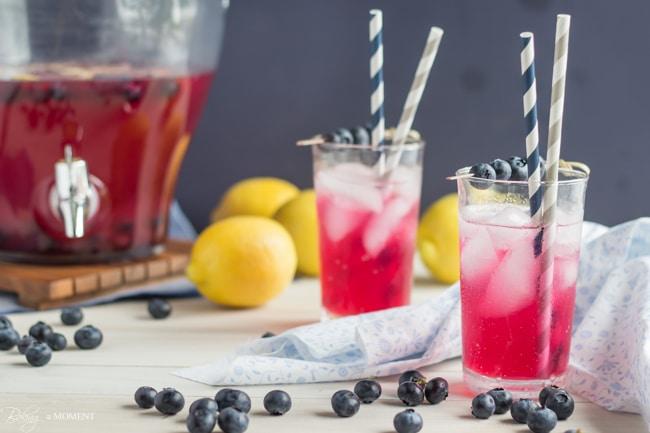 Baking A Moment » Blueberry Lavender Lemonade » Print