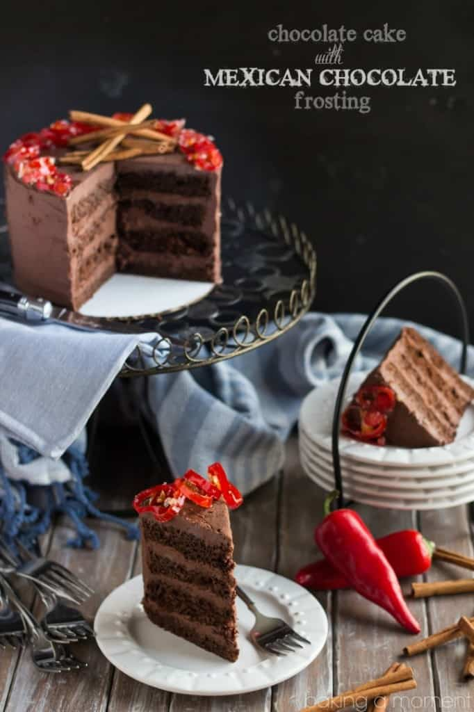 Mexican Hot Chocolate Cake With Ganache Frosting Recipes — Dishmaps