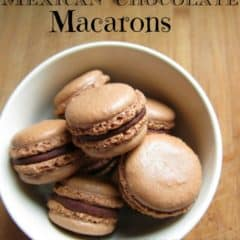 Mexican Chocolate Macarons