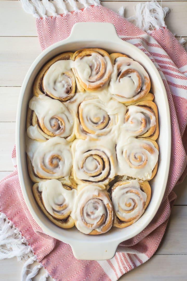 Overnight Cinnamon Rolls Recipe