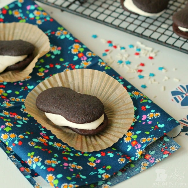 Homemade Chocolate Malt Devil Dogs by BakingAMoment.com