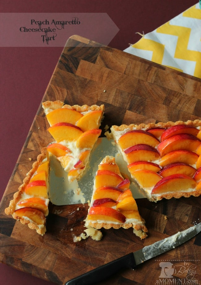 Peach Amaretto Tart
