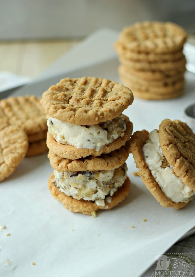 Thai Ice Cream Sandwiches | Baking a Moment