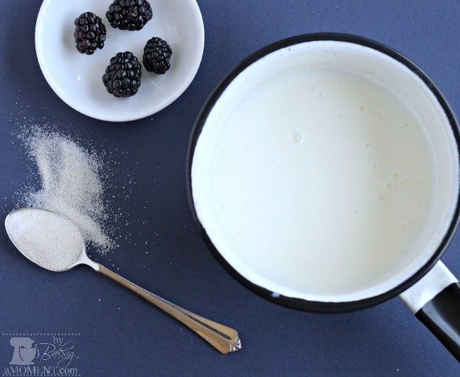 Blackberries & Sweet Buttermilk