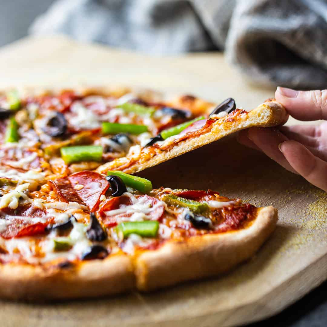Easy Pizza Dough Recipe Can Be Made Ahead Chilled Frozen Baking A Moment