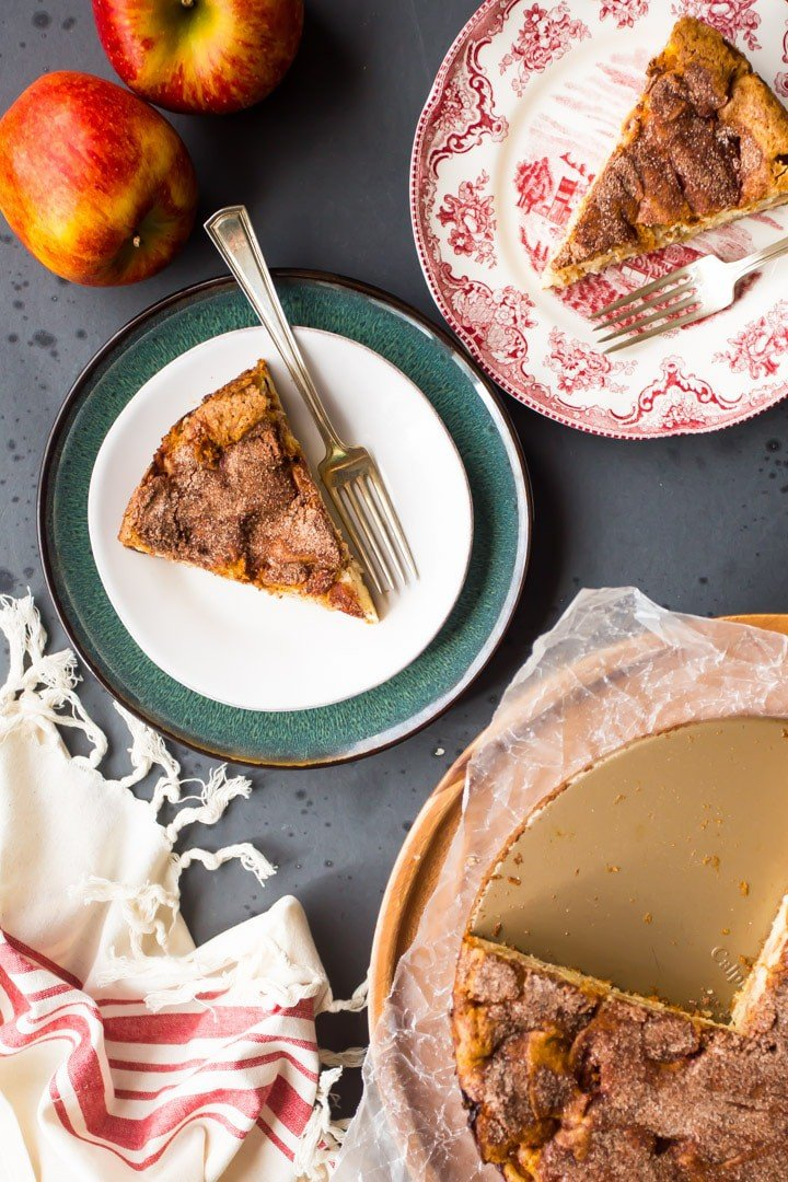Brown Butter Jewish Apple Cake Recipe