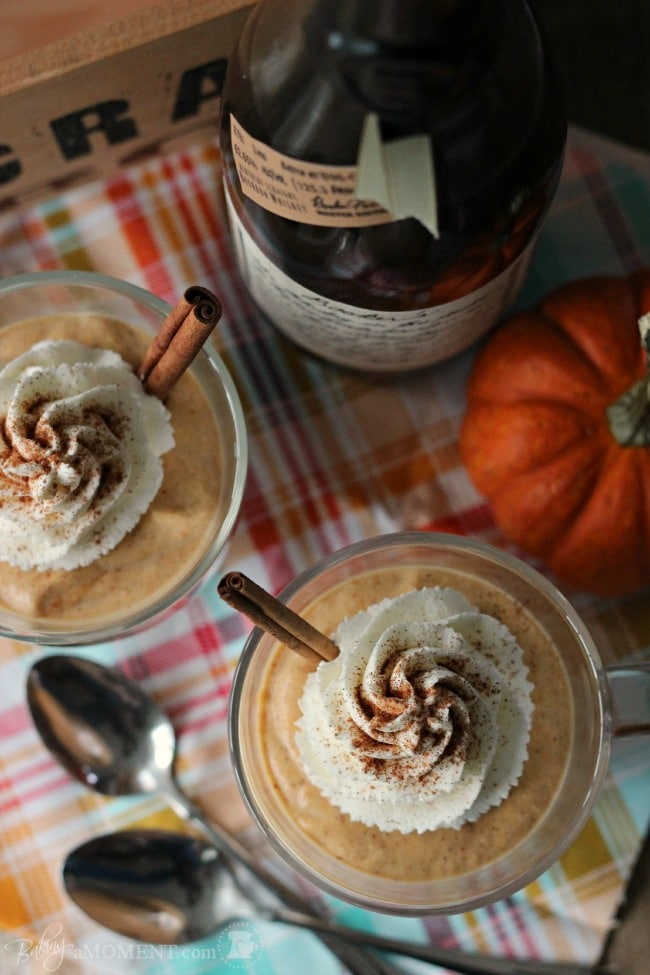 Pumpkin Spice Latte Tiramisu Parfaits | Baking a Moment