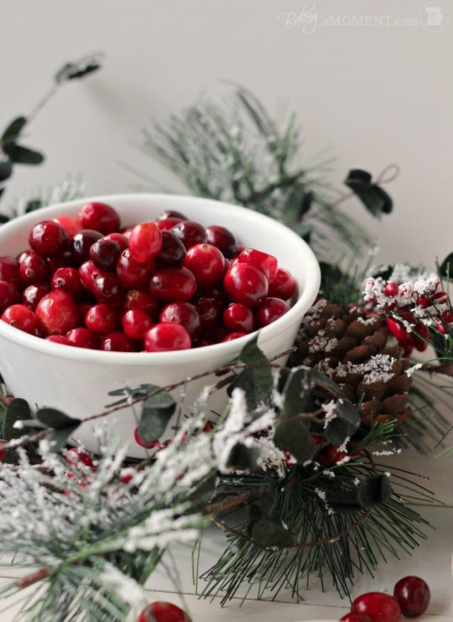 Fresh Cranberries | Baking a Moment