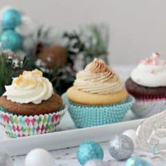 Holiday Cupcake Selection | Baking a Moment