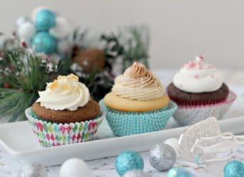 Holiday Cupcake Selection | Baking a Moment
