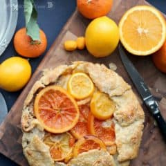 Mixed Citrus Galette | Baking a Moment
