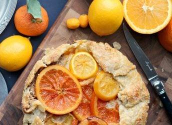 Mixed Citrus Galette | Baking a Moment