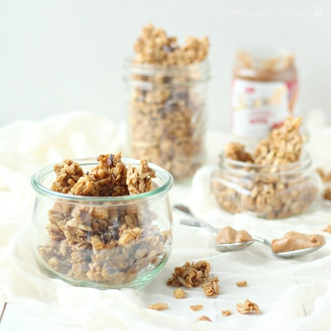Cookie Butter Granola | Baking a Moment