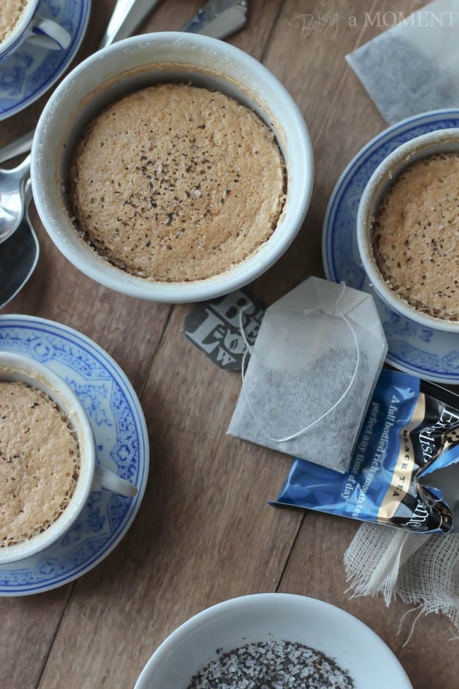 English Teatiime Pudding Cakes #AmericasTea | Baking a Moment