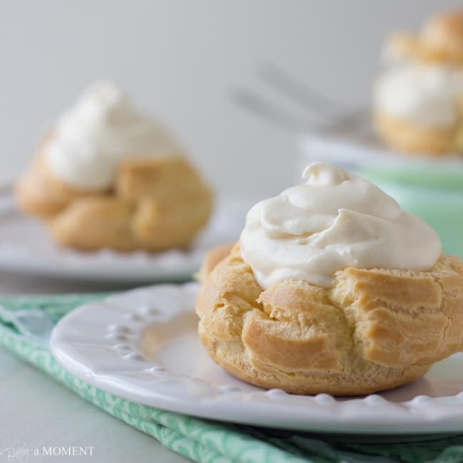Simply Perfect Pate a Choux | Baking a Moment