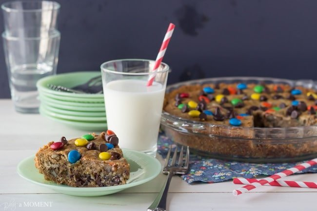 Chocolate Chip Cookie Crack Pie | Baking a Moment #chocchipcookieweek