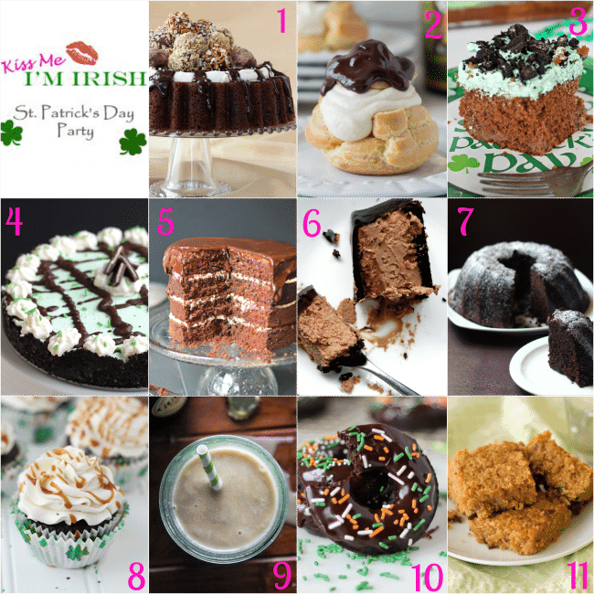 #kissmeimirish 11 Desserts for St. Patty's Day