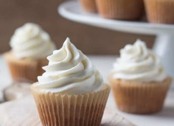 Even Simpler More Perfect Vanilla Cupcakes | Baking a Moment