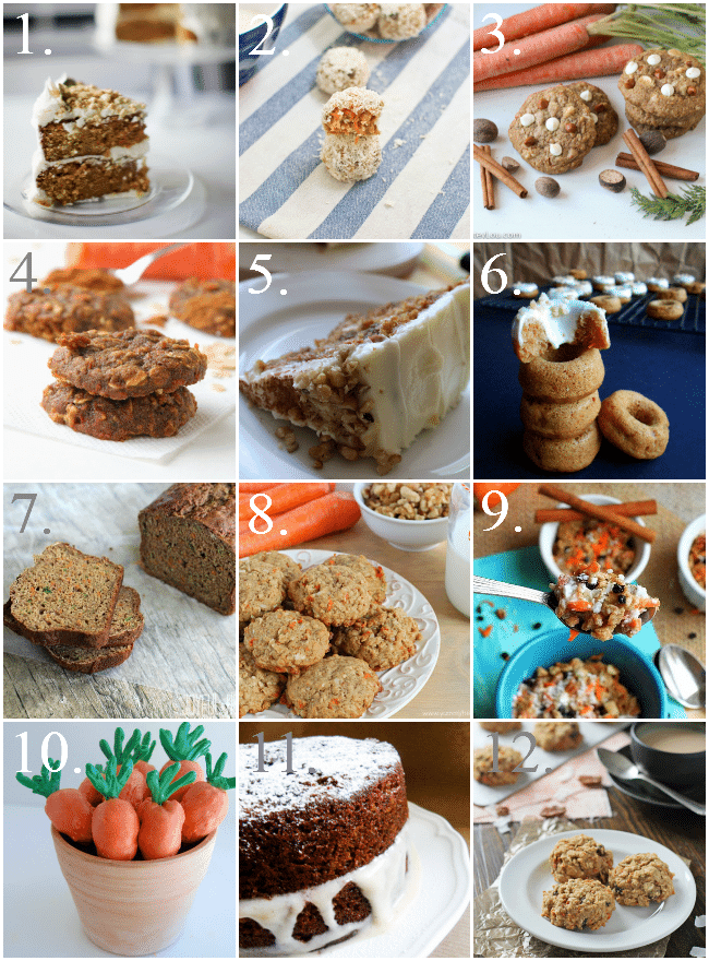 One Dozen Carrot Cake Treats for Spring | Baking a Moment