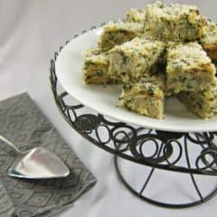 Spinach Artichoke Kugel | Baking a Moment