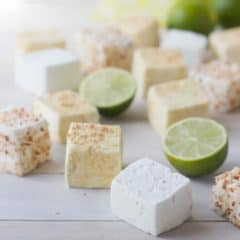 Key Lime Pie Marshmallows | Baking a Moment
