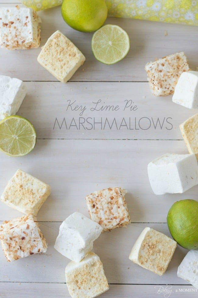Key Lime Pie Marshallows | Baking a Moment