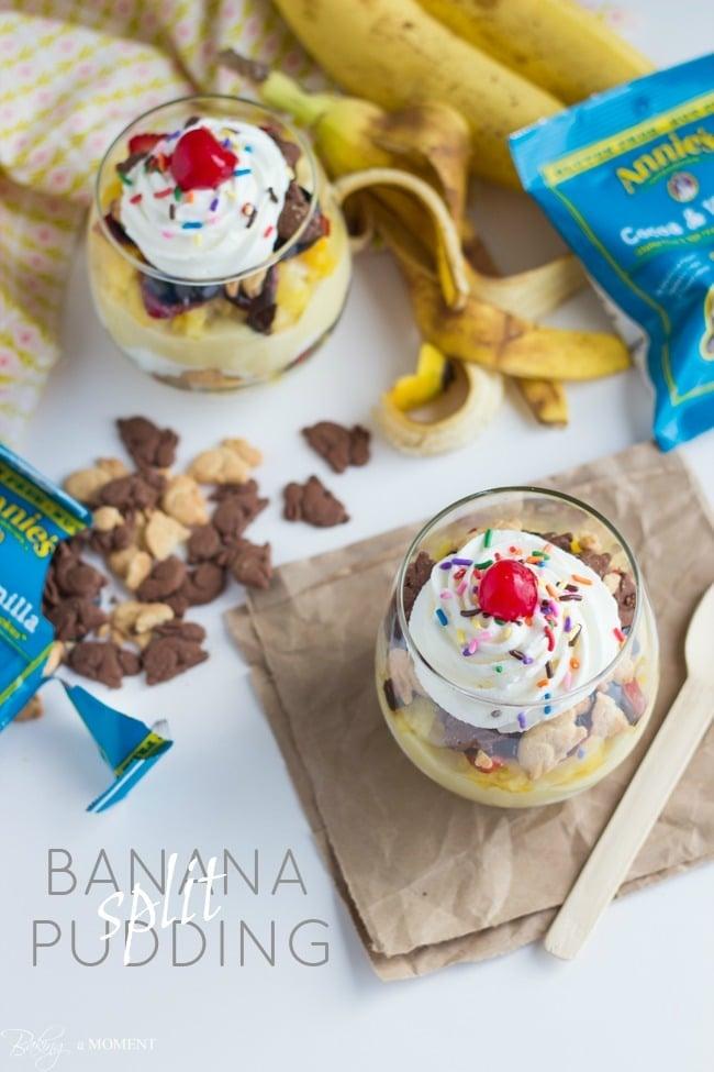Banana (Split) Pudding | Baking a Moment