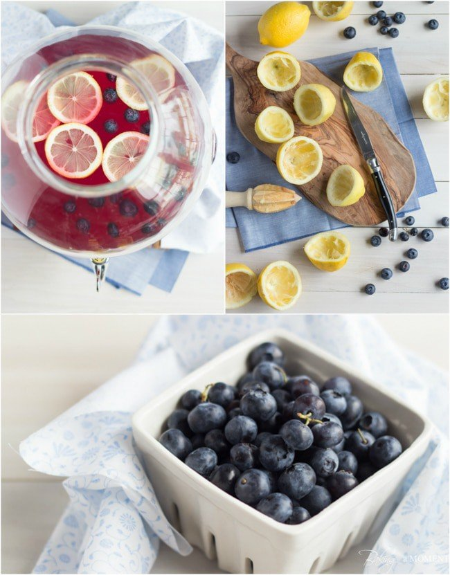Blueberry Lavender Lemonade | Baking a Moment