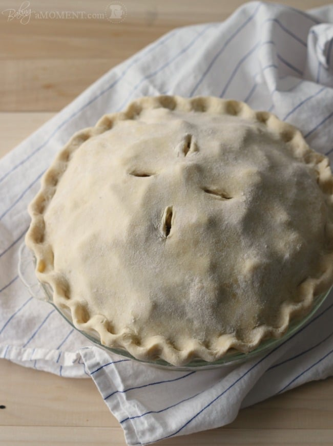 Simply Perfect Pie Crust | Baking a Moment