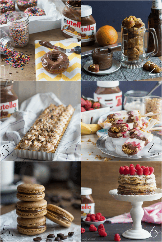 6 Great Nutella Recipes | Baking a Moment