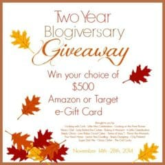 $500 Giveaway | Baking a Moment