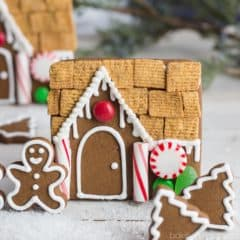 Gingerbread cookies are so fun to decorate during the holidays! This recipe was easy and tasted great.