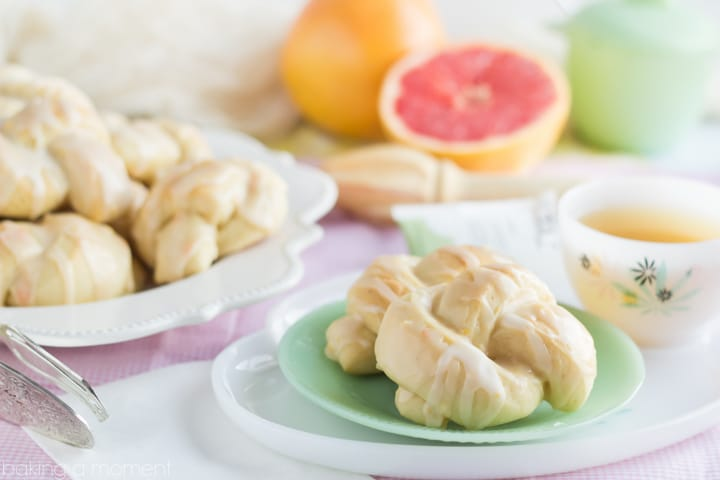 Grapefruit Bowknots- These were so pillowy soft and I loved the bright citrus flavor! Perfect for a brunch ;)