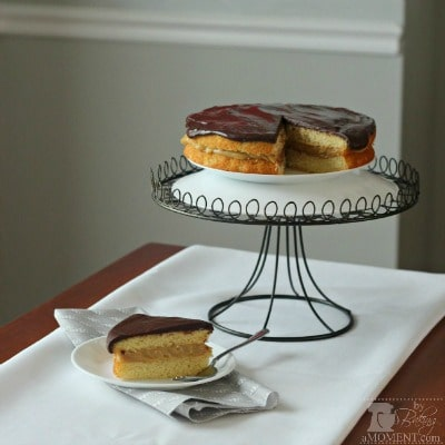 Peanut Butter Boston Cream Pie- so much YES to this!