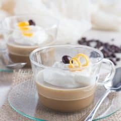 Coffee Custards spiked with Kahlua, Bailey's, and Grand Marnier! These B-52 inspired dessert treats are low-carb and guilt-free ;)