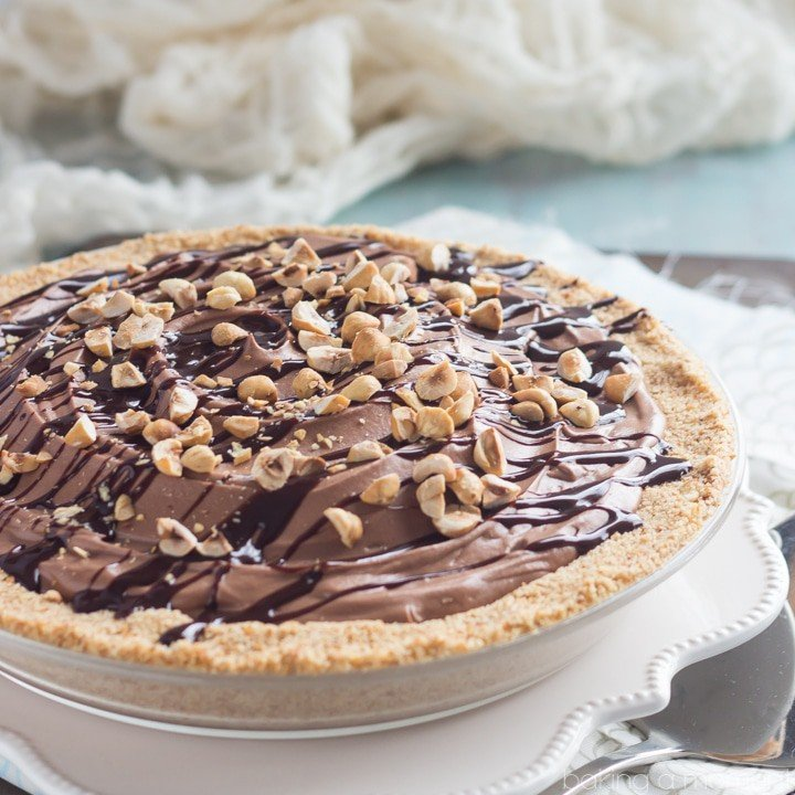 OMG Nutella Pie! Can you even?