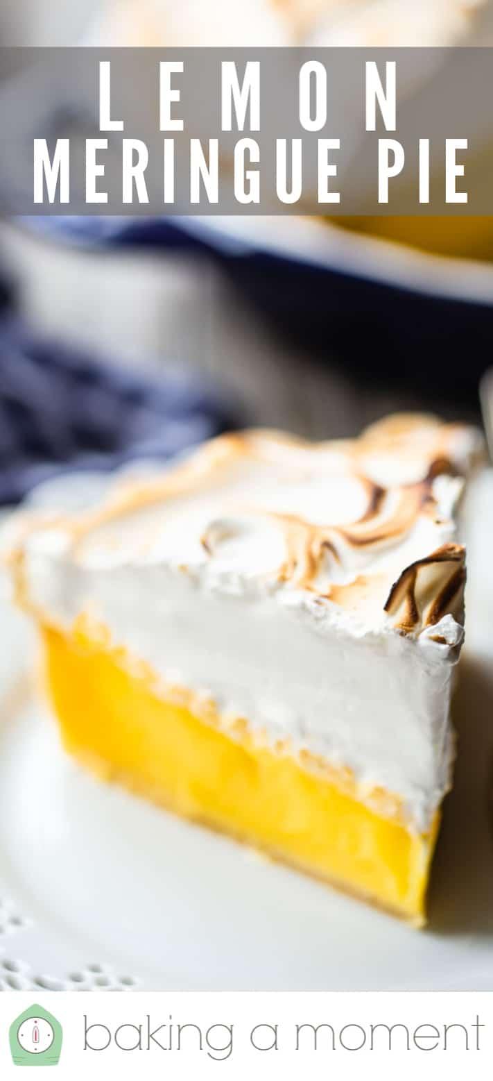 Lemon meringue pie recipe.