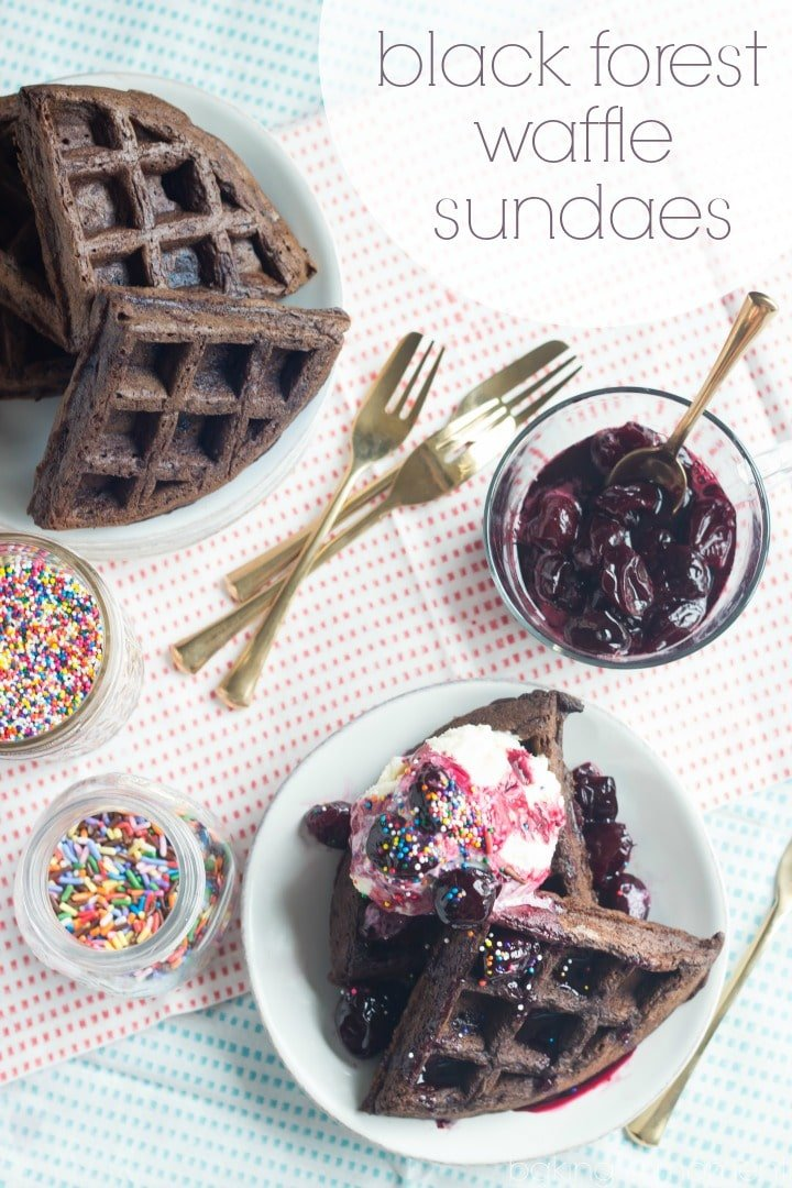 If you like cherries + chocolate you will LOVE this dessert! Such a treat and you don't even have to turn on the oven!