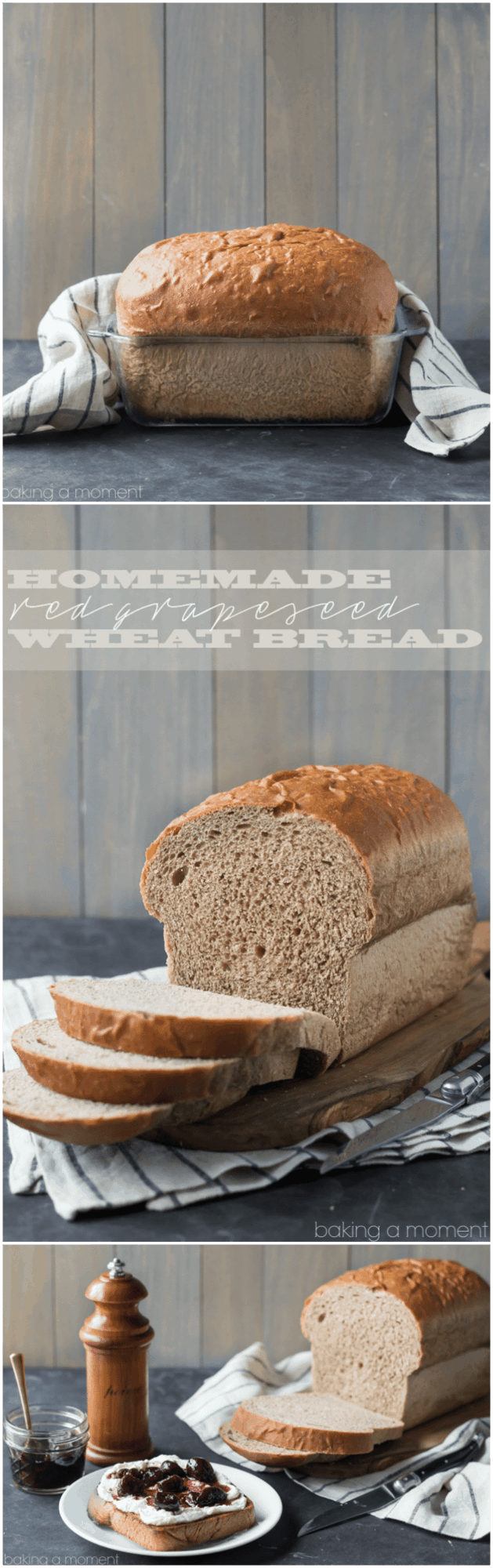 This is our go-to bread now: my whole family LOVES this Red Grapeseed Wheat Bread recipe!