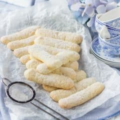 Homemade Ladyfingers- I've always wondered how to make these myself instead of buying those hard, flavorless ones in a box! Next time I make tiramisu I'll use this recipe ;)