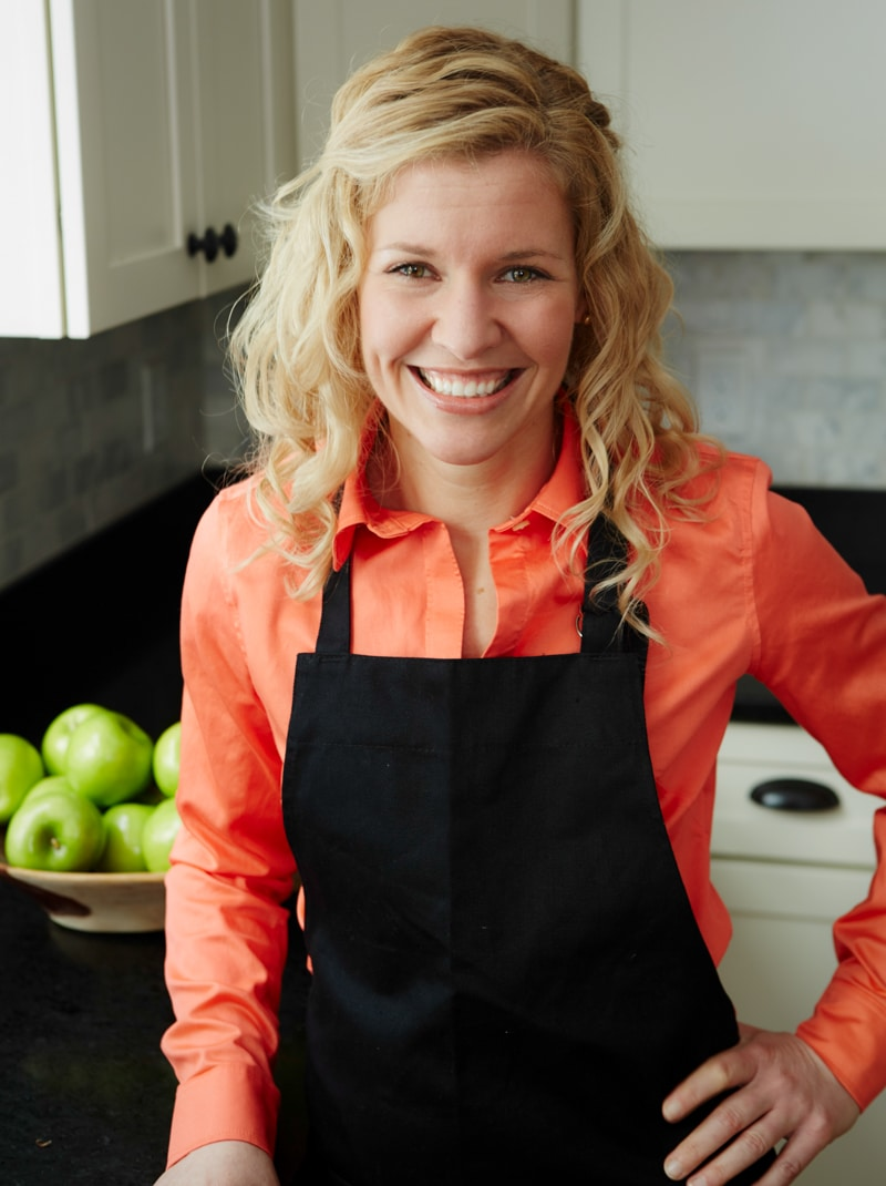 Katie Webster- Author of Maple, and Healthy Seasonal Recipes.